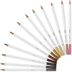 Hair & Skin Tones Nuvo Watercolor Pencils 12/Pkg