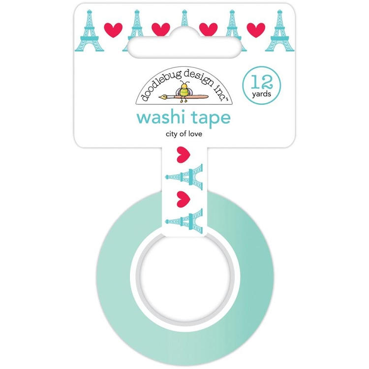 City Of Love Doodlebug Washi