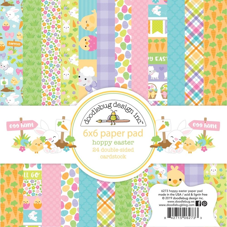 Hoppy Easter Doodlebug Double-Sided Paper Pad 6