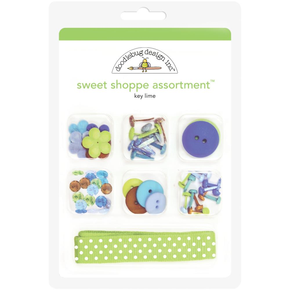 Key Lime, Party Time Doodlebug Sweet Shoppe Assortment