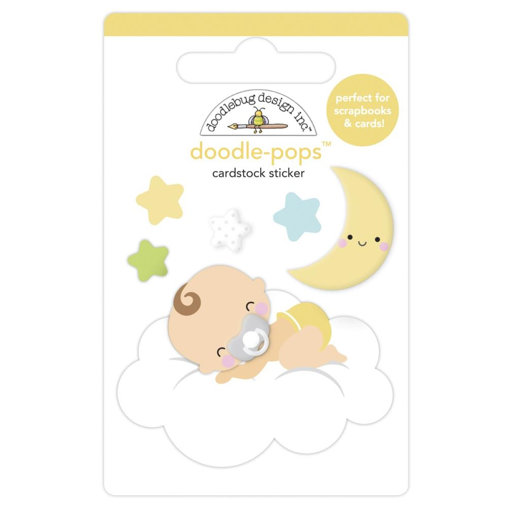 Cloud Nine, Bundle Of Joy Doodle-Pops 3D Stickers