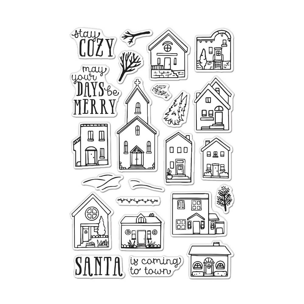 Hero Arts Cozy Town Clear Stamps 4