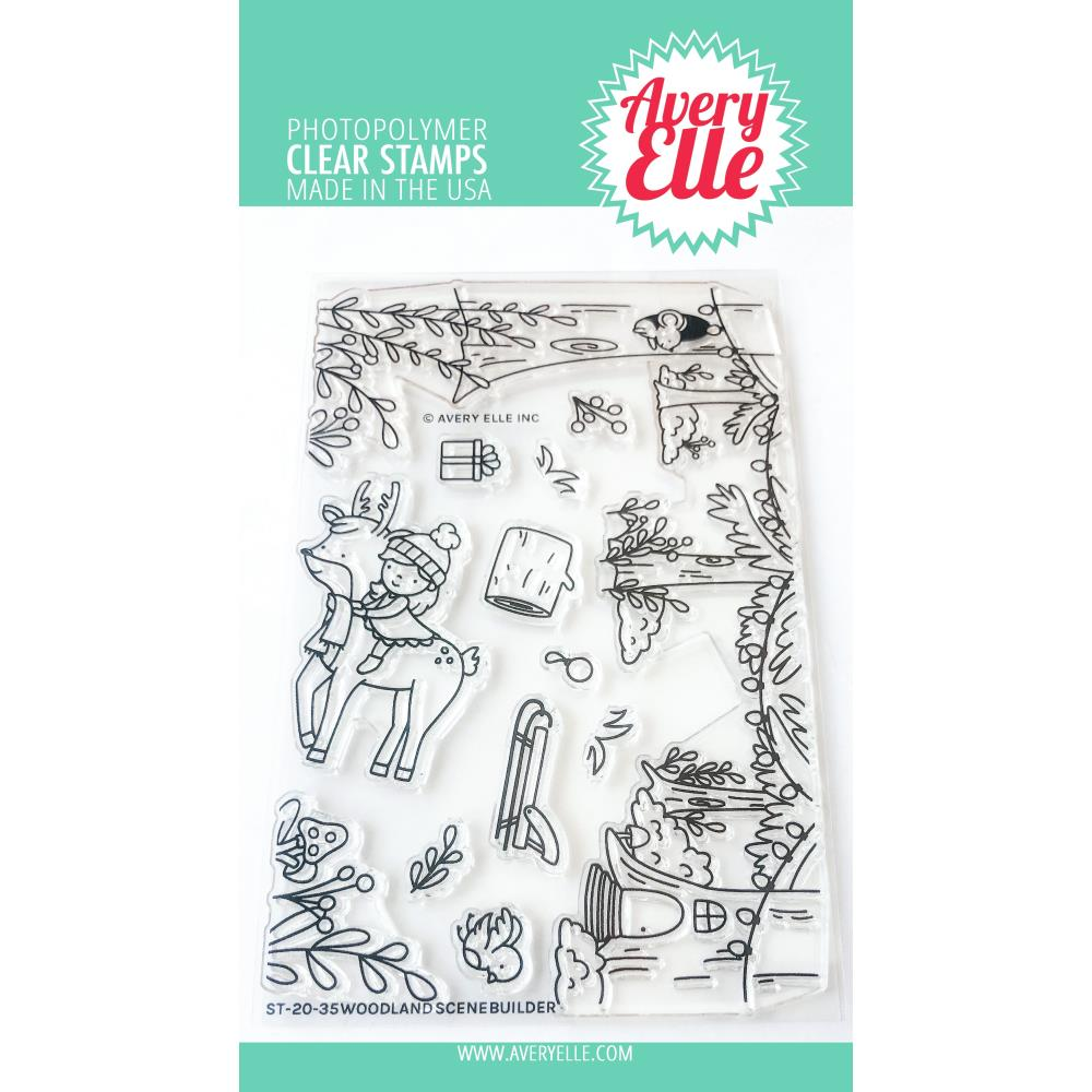 Woodland Scene Builder Stamp & Die Bundle