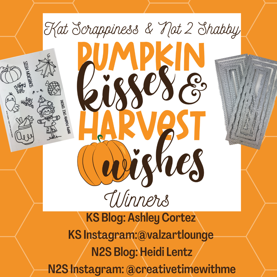 Blog & Instagram Hop Giveaway Winners for N2S & KS!