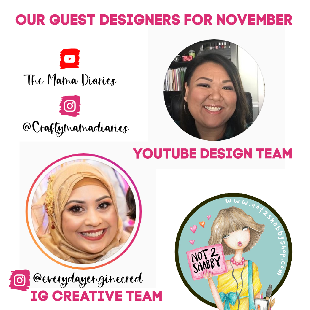 Meet Our Design Team Guest for November