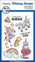 Unicorn Sparkle Clear Stamps