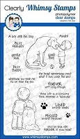 Best Buddies Clear Stamps