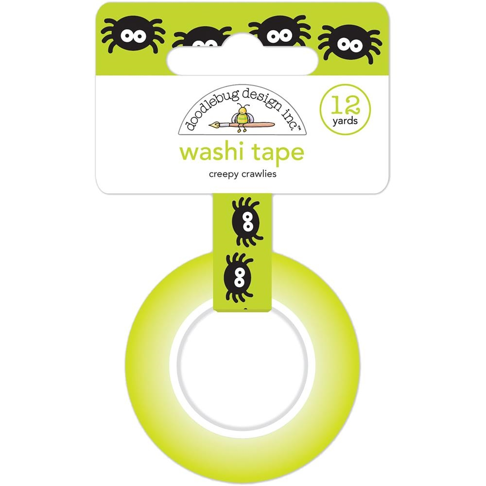 Creepy Crawlies Washi Tape