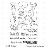 Froggies Clear Stamp Set