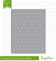 SugarCut  Geo Floral CoverPlate