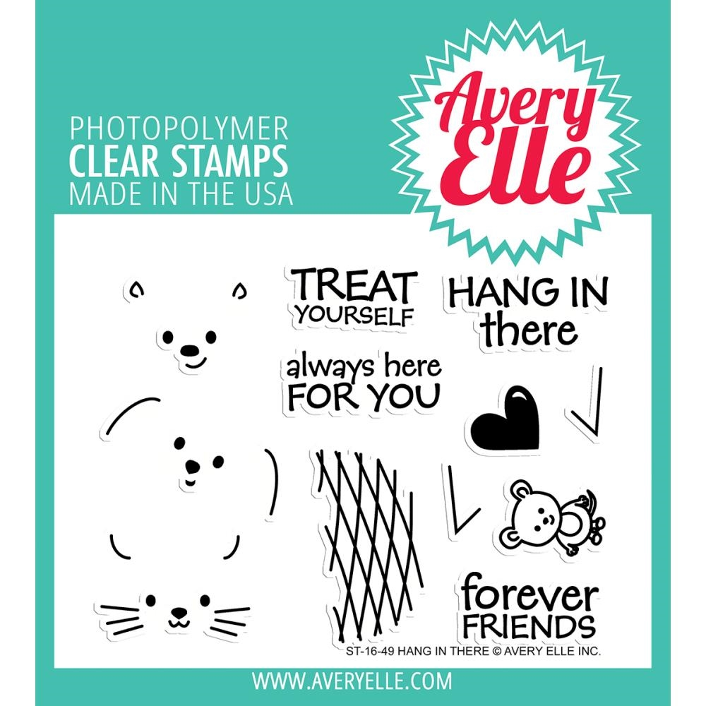 Hang In There Clear Stamp