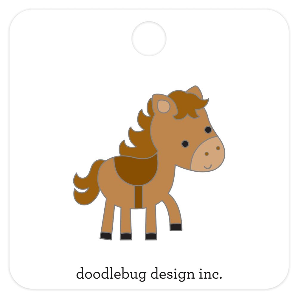 Horsey - Doodlebug Collectible Enamel Pin