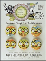 Owl-O-Ween Tin Pin