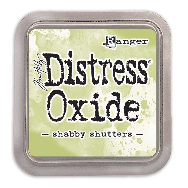 Shabby Shutters Tim Holtz Distress Oxides Ink Pad