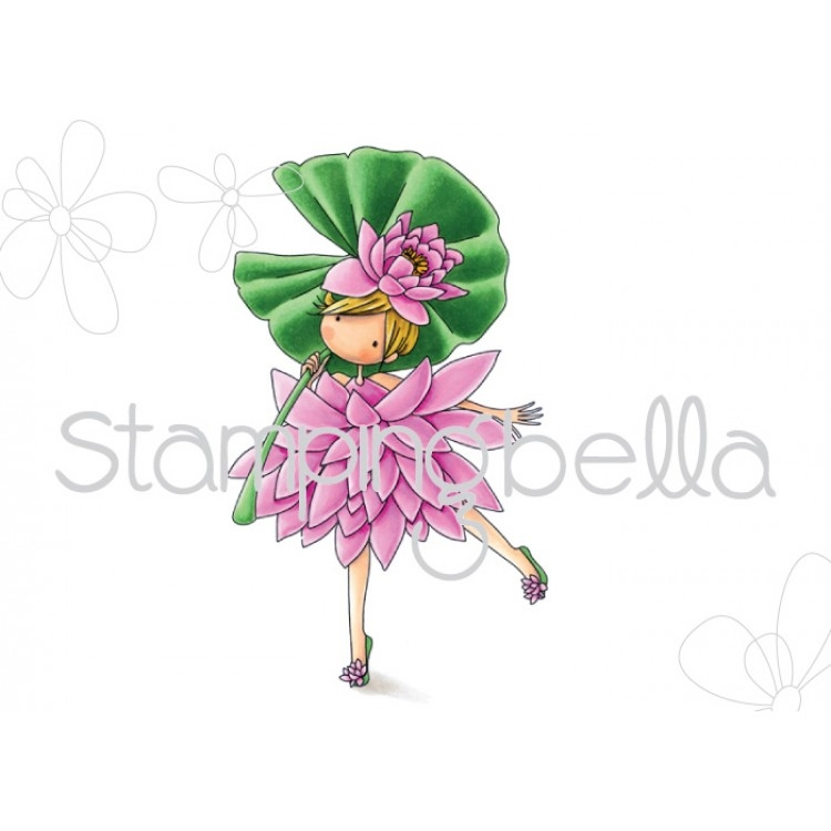 TINY TOWNIE GARDEN GIRL WATER LILY