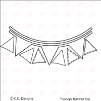 Triangle Banner Die