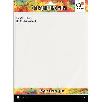 Tim Holtz Alcohol Ink White 8x10 Yupo Paper 86lb 5/Pkg