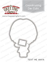 text me anya - die cuts