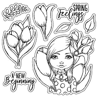 A New Beginning Clear Stamp