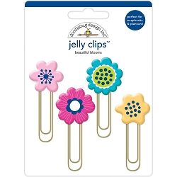 Beautiful Blooms Doodlebug Jelly Clips