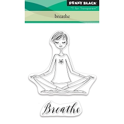 Breathe Penny Black Clear