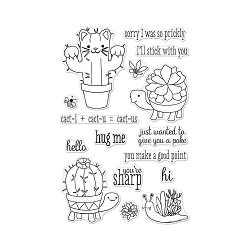 Cactus Animals Hero Arts Clear Stamps 4