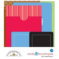 Farm Doodlebug Cards & Envelopes