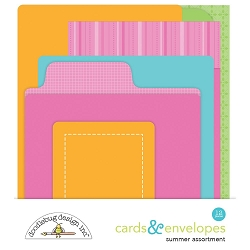 Summer Doodlebug Cards & Envelopes