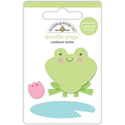 Spring Things Froggy Doodle-Pops 3D Stickers