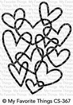 Hearts Entwined Stamp