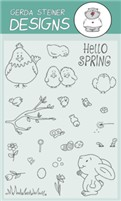 Hello Spring 4x6 Clear Stamp