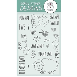 How are Ewe? 4x6 Clearstamp Set