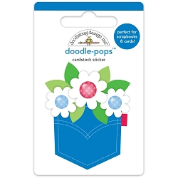 Yankee Doodle Pocket Full Of Posies 3D Sticker