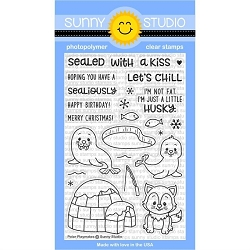 POLAR PLAYMATES STAMPS