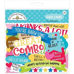 So Much Pun Chit Chat Odds & Ends Die-Cuts