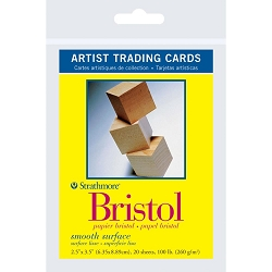 Bristol Smooth Strathmore Artist Trading Cards