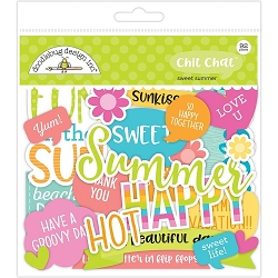 Sweet Summer Chit Chat Odds & Ends Die-Cuts
