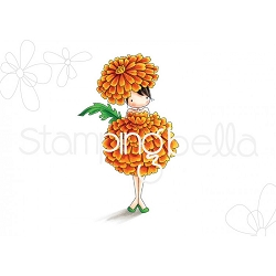 TINY TOWNIE GARDEN GIRL MARIGOLD