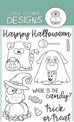 Where is the Candy? 4x6 Clear Stamp Set