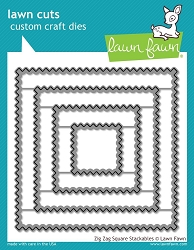 zig zag square stackables