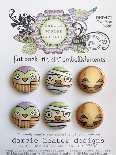 Owl You Doin' - Tin Pins