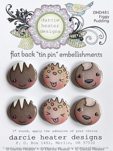 Figgy Pudding - Tin Pins