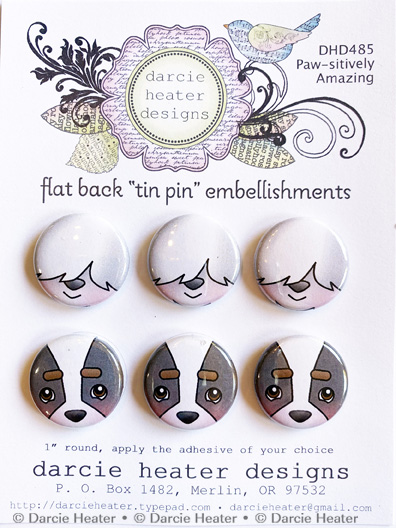 Paw-sitively Amazing - TIN PINS