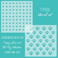 Friends FURever | Set of 2 Stencils