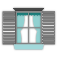 Cottage Window | Honey Cuts