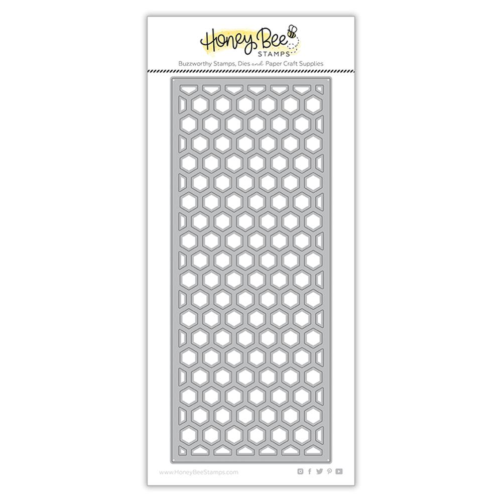 Hexi Slimline Cover Plate Top | Honey Cuts