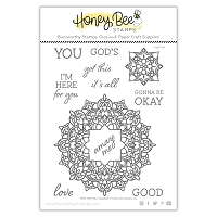 Here For You | 6x8 Stamp Set