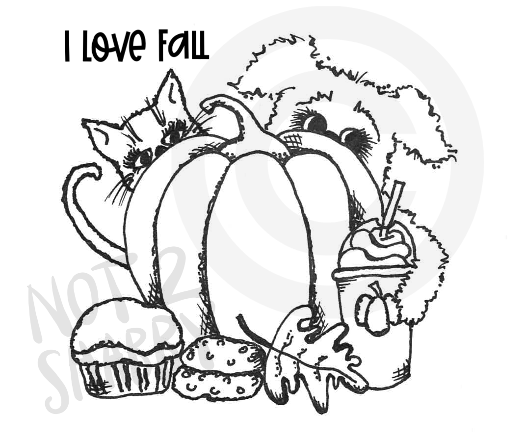 I LOVE FALL - DIGITAL DOWNLOAD