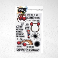 Knockout Nibbles 4x6 Clear Stamp Set