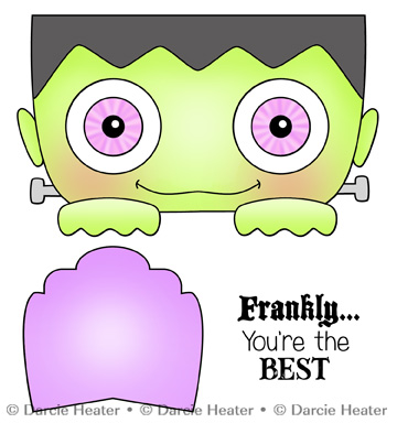FRANKLY THE BEST - CLEAR STAMP